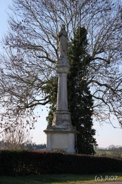 Vierge des Croix, 44 la Boissière-du-Doré.